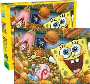 Spongebob Squarepants 500 Piece Jigsaw Puzzle 480mm x 350mm (nm)